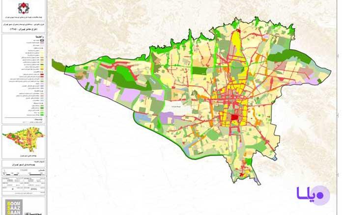 طرح تفصیلی تهران